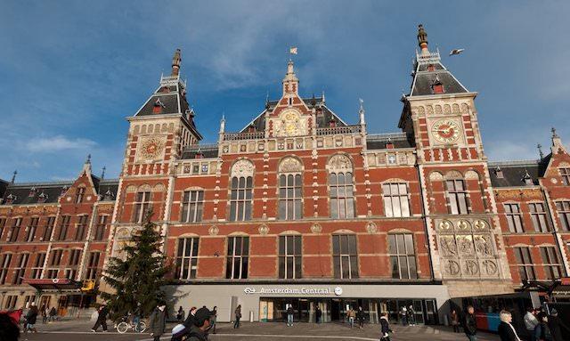 Estação de trem Amsterdã Centraal