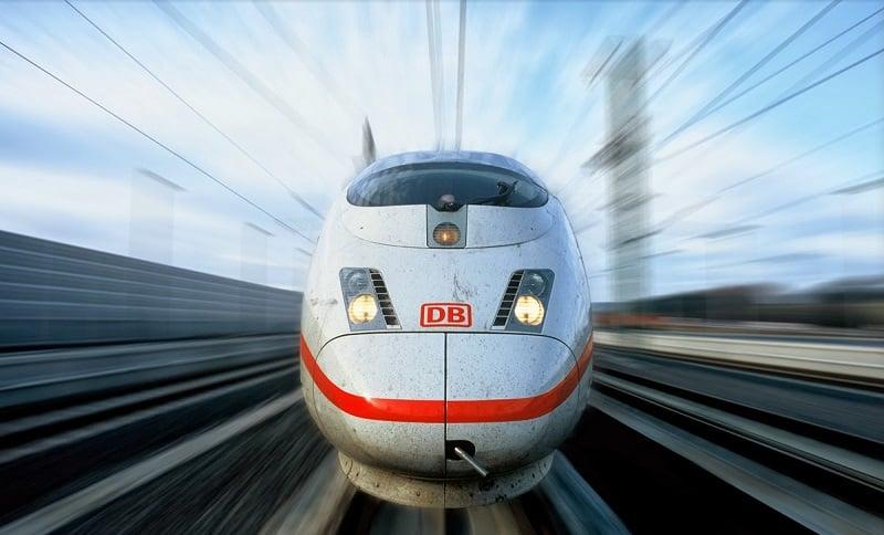 Trem de alta velocidade na Alemanha