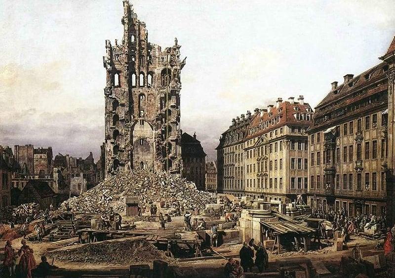 Igreja luterana em Dresden