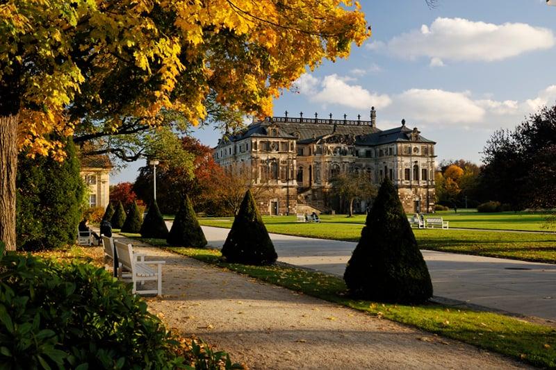Outono em Dresden