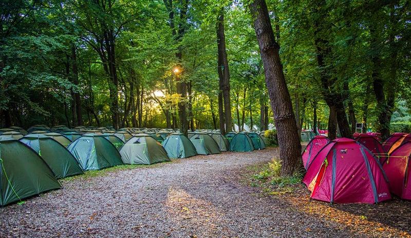 Campings planejados da Oktoberfest na Alemanha