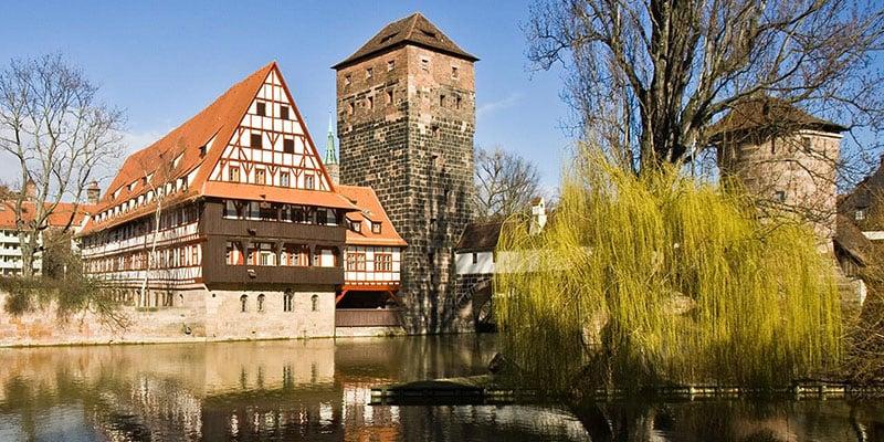 Cidade de Nuremberg na Baviera