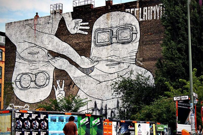 Bairro Kreuzberg em Berlim