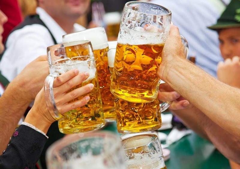 Cerveja da Oktoberfest na Alemanha