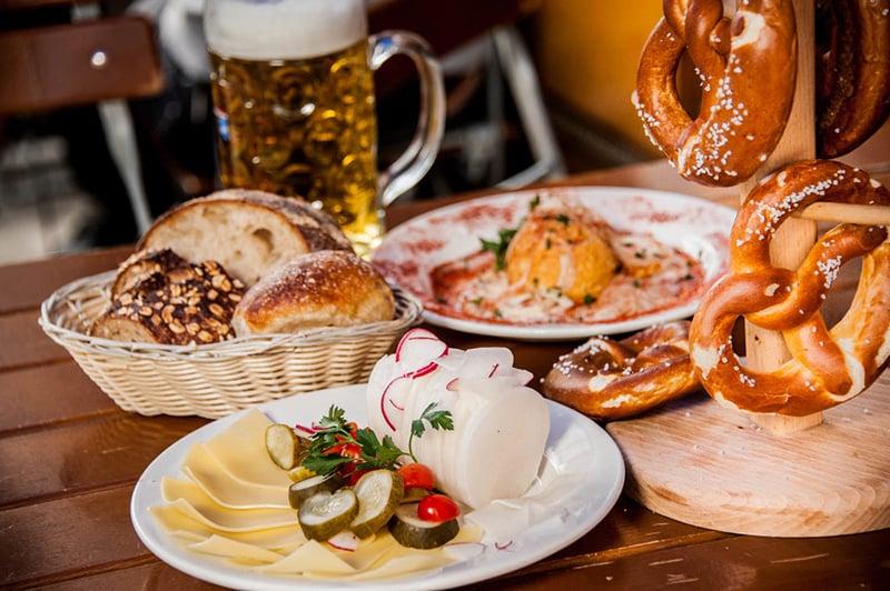 Jantar na Alemanha