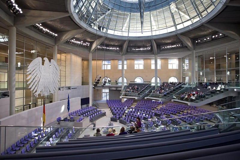 Parlamento Alemão em Berlim