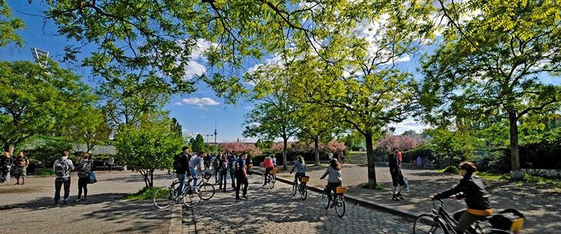 Parque Mauerpark em Berlim