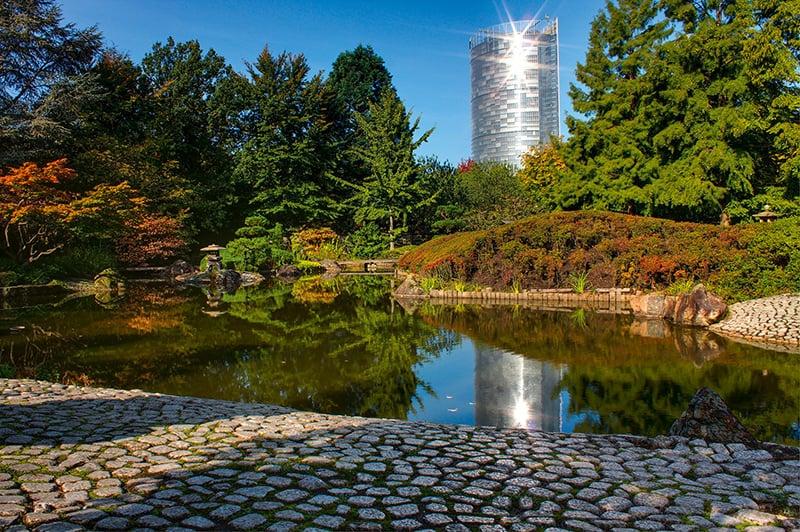 Parque Rheinaue em Bonn
