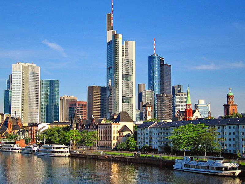 Vista da cidade de Frankfurt