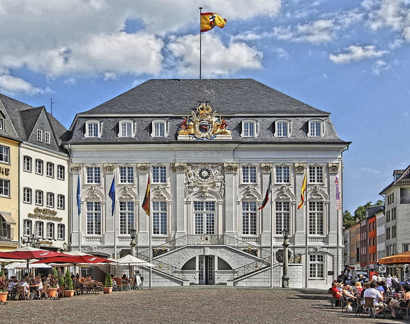 Prédio da Prefeitura em Bonn