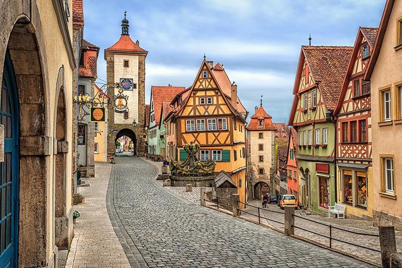 Melhores cidades da Rota Romântica na Alemanha