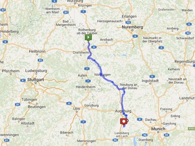 Melhores roteiros para viajar de carro pela Alemanha
