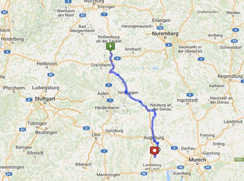 Cidades para incluir no seu roteiro pelo sul da Alemanha