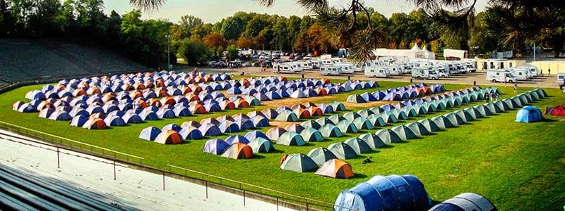 Oktoberfest Camping em Munique na Alemanha