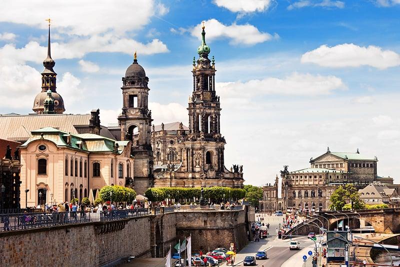 Clima e a temperatura em Dresden