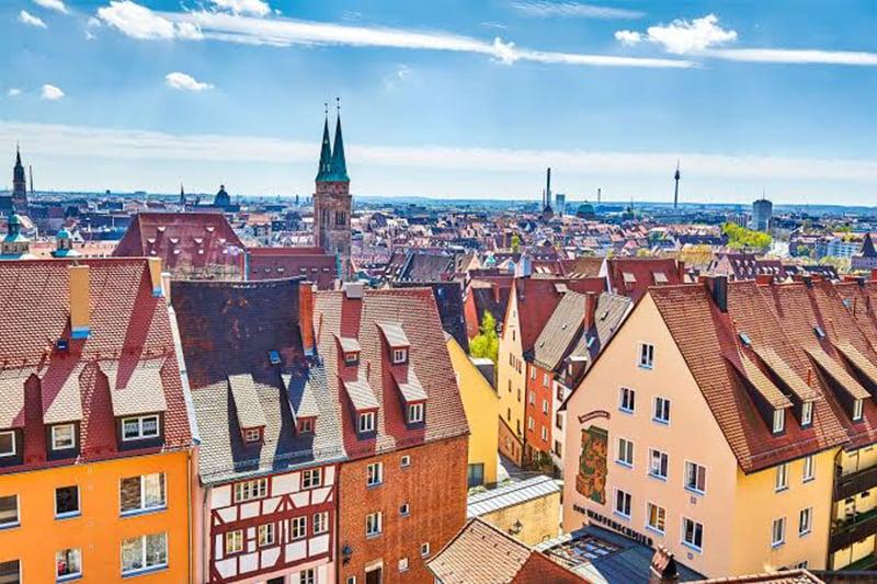 Vista de Nuremberg