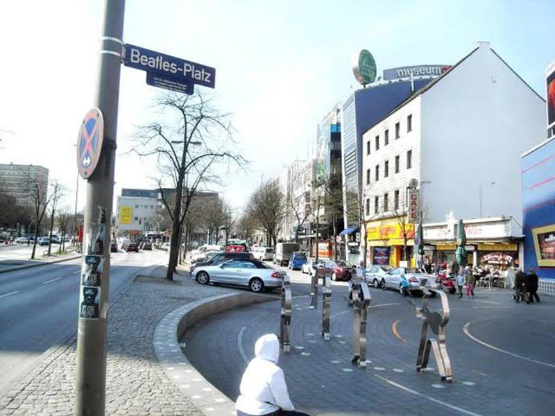 Beatles Platz em Hamburgo