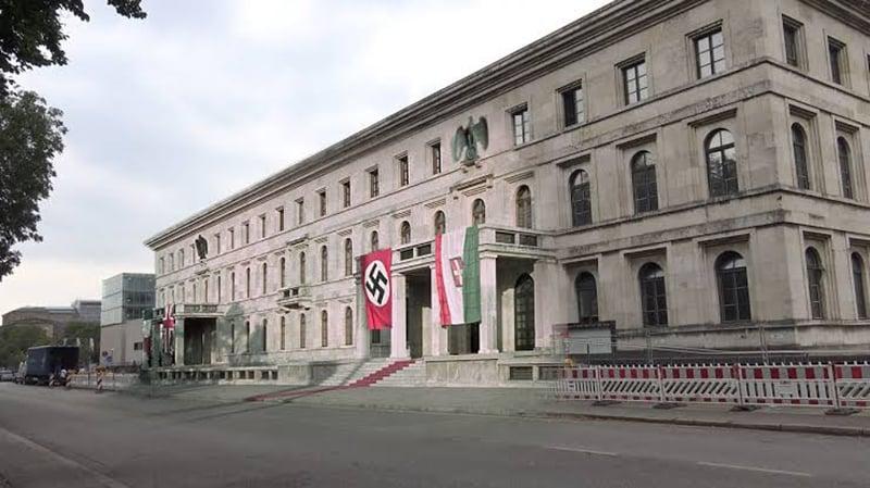 Edifício do antigo escritório do Führer em Munique
