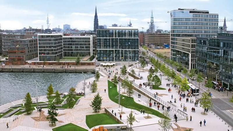Hafen City em Hamburgo