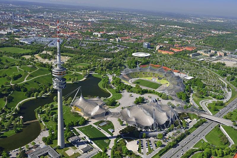 Parque Olímpico em Munique