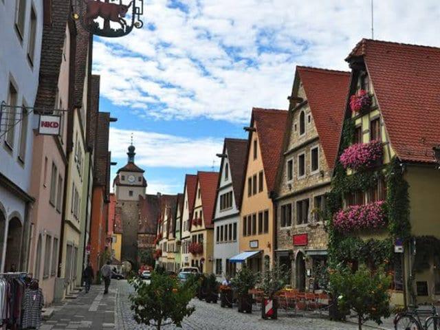 Excursão ao castelo de Harburg e Rotemburgo