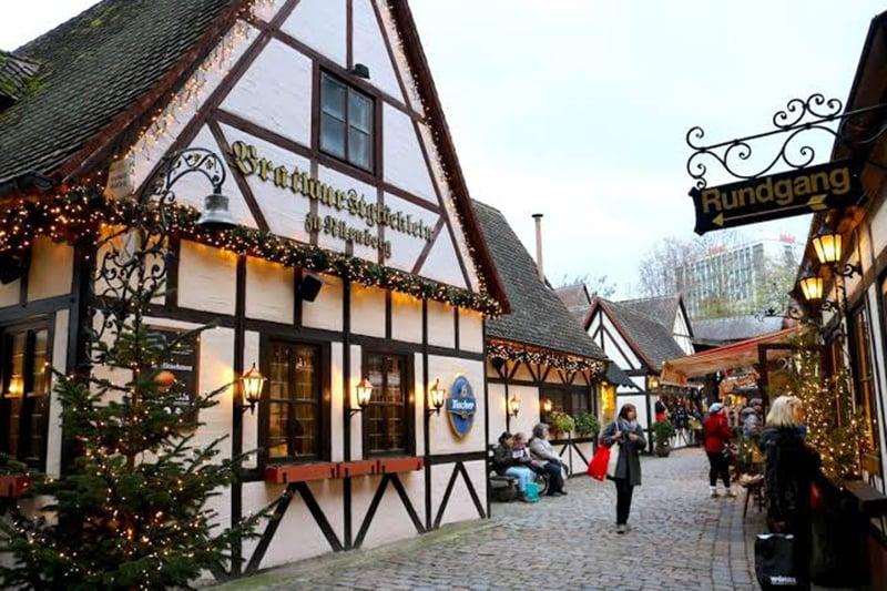 Ruas típicas de Nuremberg