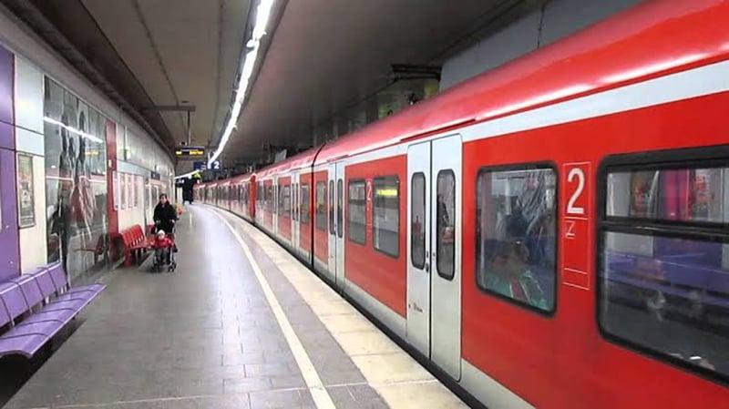 Transporte S-Bahn em Colônia