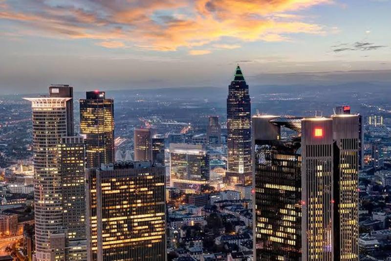 Vista da Torre Olímpica em Munique