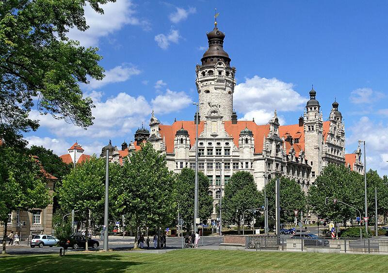 Nova Prefeitura em Leipzig