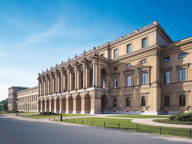 Palácio Residenz em Munique