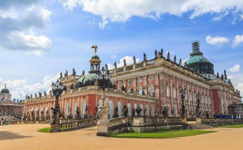 Novo Palácio em Potsdam