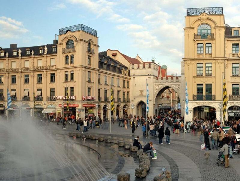 Como enviar dinheiro para Munique