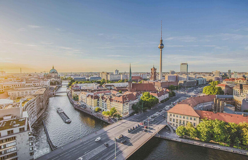 Vista de Berlim