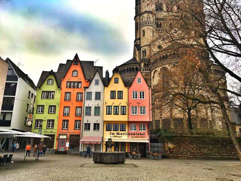 Casas típicas de Berlim