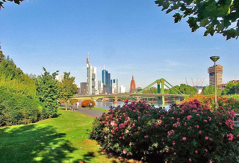 Lua de mel em Frankfurt