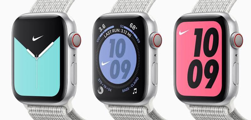 Apple Watch Series 5 - Edição Especial Nike