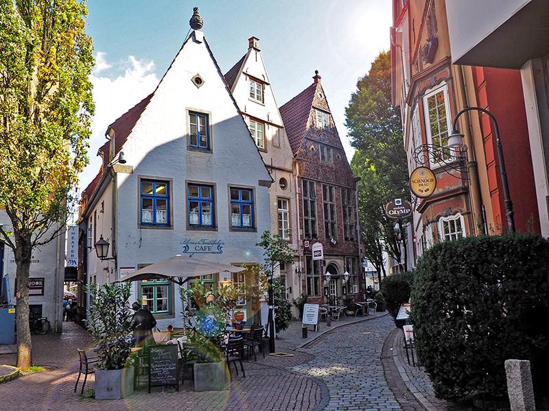 Bairro Schnoor Viertel em Bremen