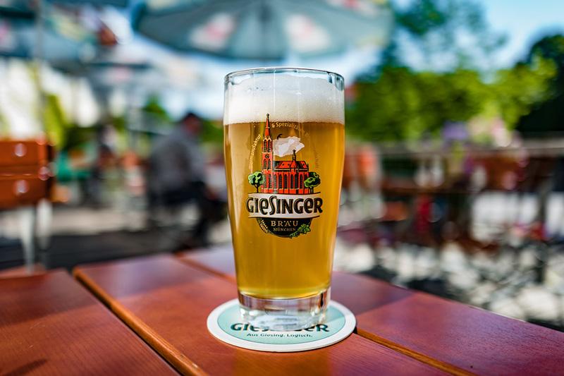 Cervejaria Giesinger Bräustüberl em Munique