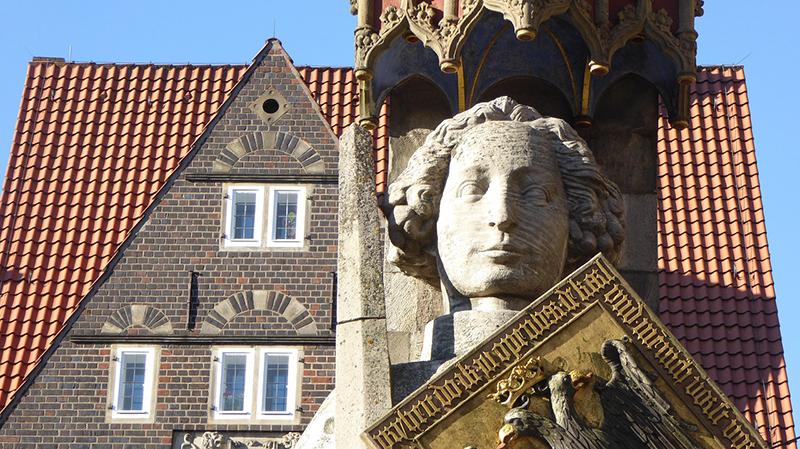 Estátua de Roland em Bremen
