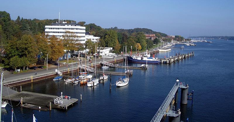 Kiellinie em Kiel