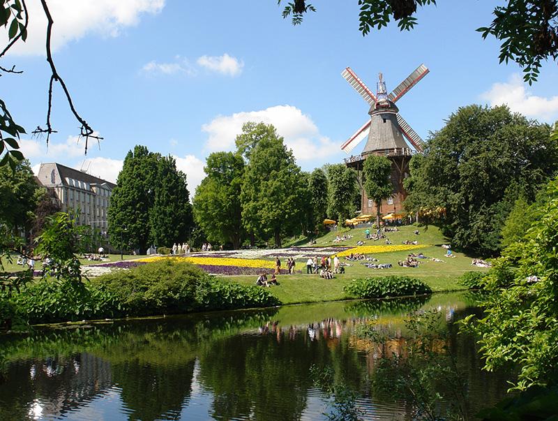 Parque Wallanlagen em Bremen