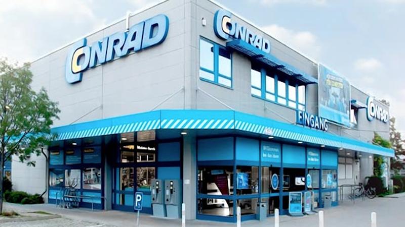 Loja Conrad Electronic em Munique
