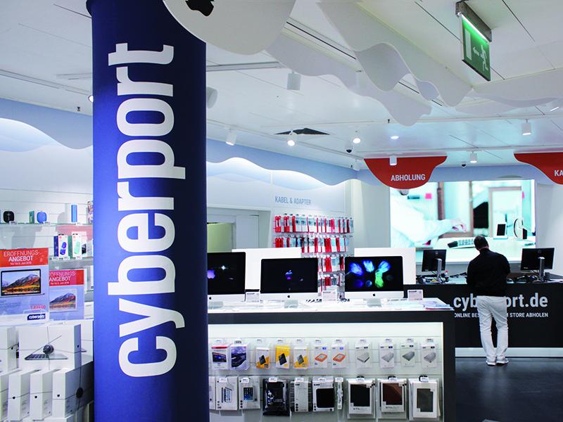 Loja Cyberport em Munique