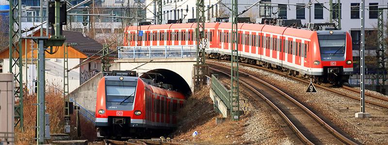 Transporte Tram em Munique