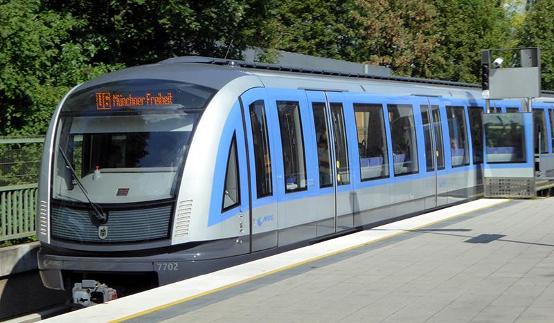 Transporte Metrô U-Bahn em Munique