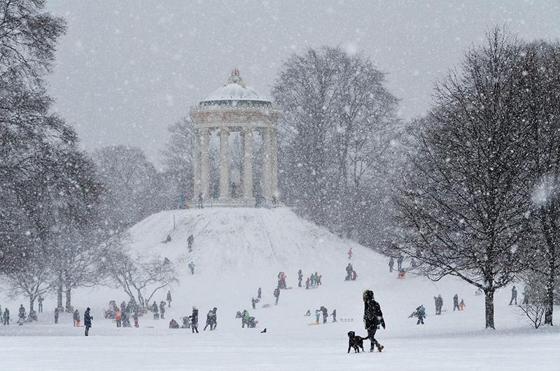 Neve em Munique