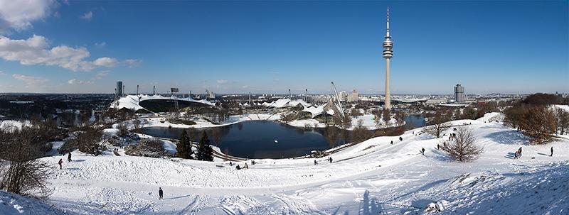 Olympic Park em Munique