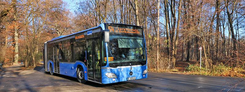 Ônibus em Munique