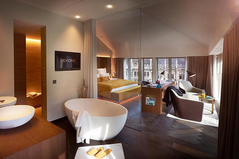 Hotéis de luxo em Munique