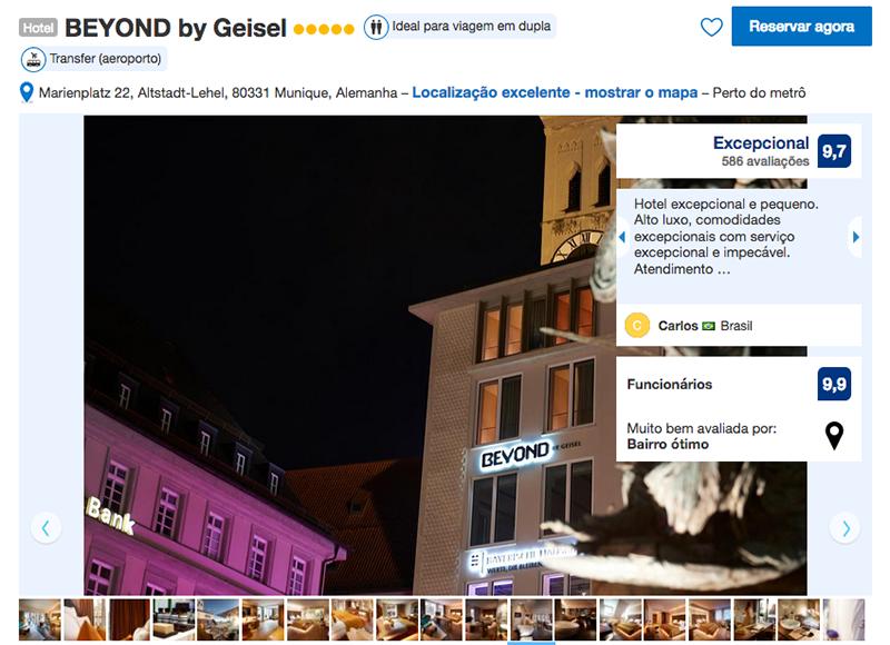 Hotel BEYOND by Geisel em Munique